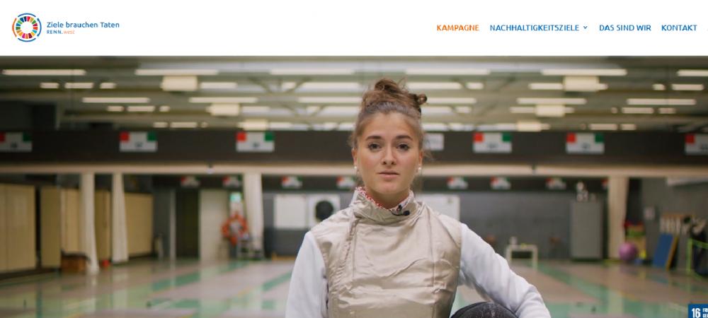 """""""Ziele brauchen Taten"""" – Neue RENN.west Kampagne zu Sport und Nachhaltigkeit"""