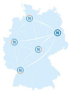 RENN-Leitstellen in Deutschland
