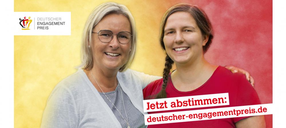 Deutscher Engagementpreis 2020 – Jetzt abstimmen!
